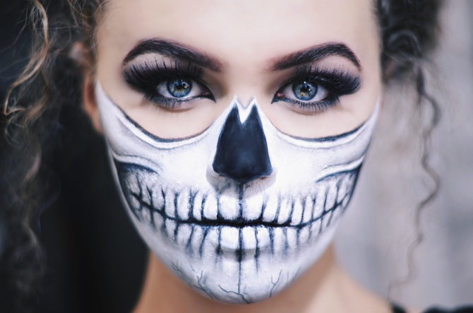 Face Paint Skeleton Mouth