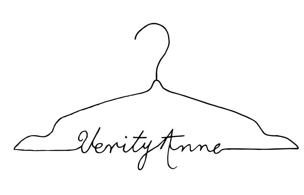 verity anne clothing logo emma law design